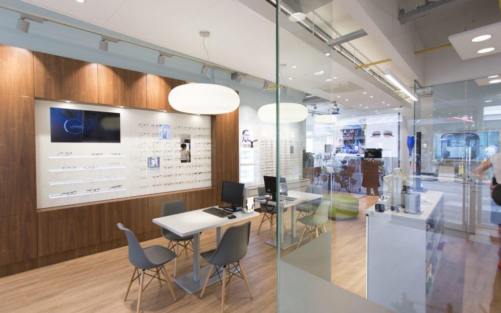 brillenwinkel, opticien, verbouwd, KPG Architecten